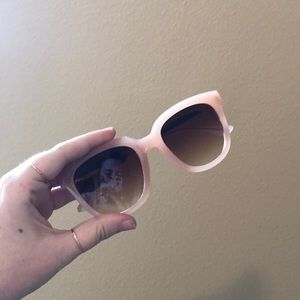 Pink and rose gold sunnies